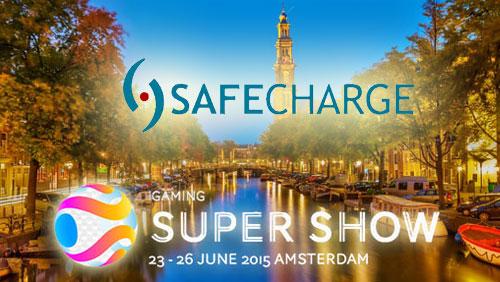 SafeCharge set to shine at iGaming Super Show