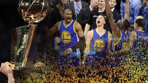 Warriors win the 2015 NBA Championship, the first since 1975