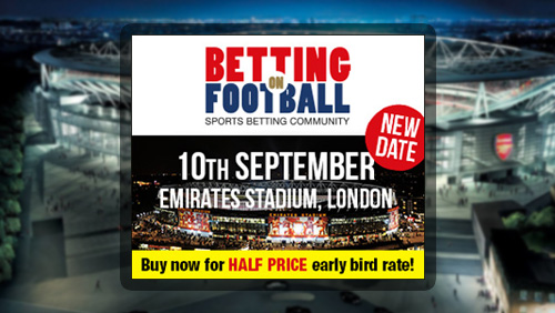 Betting on Football moves to Thursday 10th September