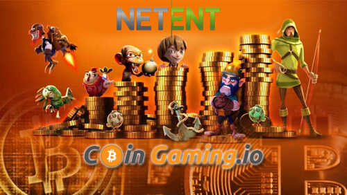 Coingaming integrates NetEnt Casino Games for the Bitcoin Market