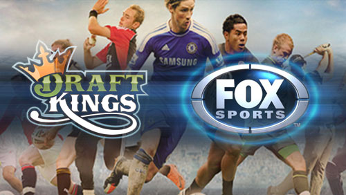 DraftKings funding round led by Fox Sports raises $300m