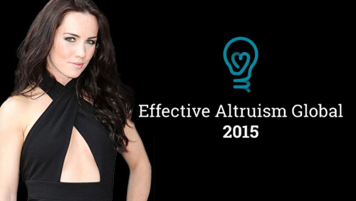 """Liv Boeree: Effective Altruism Global Summit """"The Line Up Blew Me Away"""""""