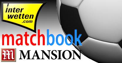 Mansion, Matchbook and Interwetten firm up football sponsorships