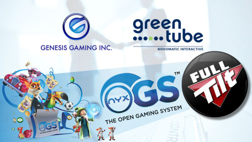 NYX Gaming Launches Their Open Gaming System on Full Tilt; Greentube Inks Deal With Genesis Gaming