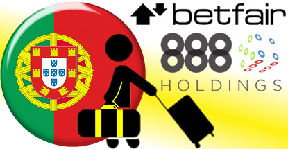 Betfair, 888 latest to exit Portugal