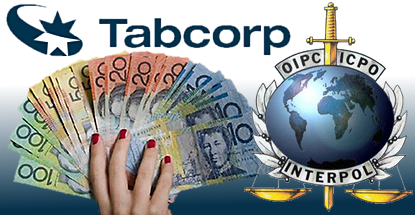 Tabcorp money laundering lawsuit; Interpol looking at in-play betting apps