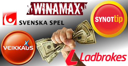 Winamax, Synot Tip, Ladbrokes ink footie deals; Svenska Spel ditch hockey deal