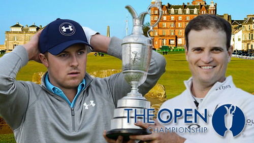 Zach Johnson wins the British Open; Jordan Spieth favorite to win PGA Championship