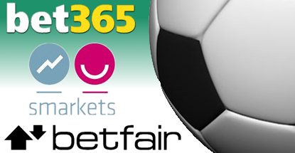 Betfair, Bet365 and Smarkets up stakes in football sponsorship arms race