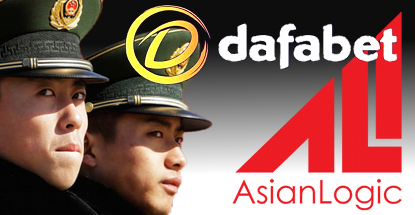 Dafabet left with their Wang out as China cracks down on online credit betting