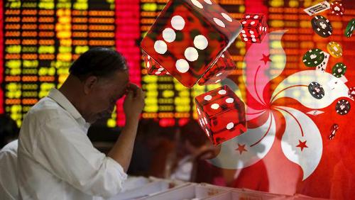 Gambling stocks take a plunge in Hong Kong