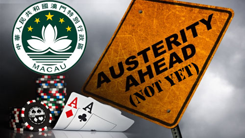 Macau GGR drops 34.5% in July, austerity still unnecessary