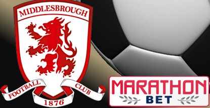 Marathonbet partner with Middlesbrough