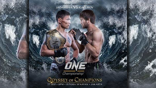 Narantungalag Jadambaa Defends One Featherweight World Championship Against Marat Gafurov At ONE: Odyssey Of Champions In Jakarta