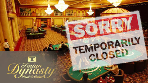 Tinian Dynasty closes temporarily