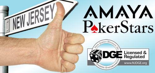 Amaya Gaming's PokerStars, Full Tilt brands approved to operate in New Jersey