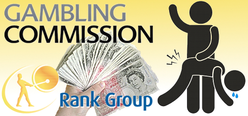 UK Gambling Commission spanks Rank Group over anti-money laundering lapses