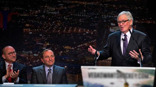 Vegas, Quebec City make expansion pitches to NHL