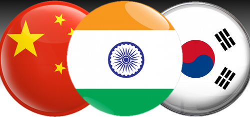 India internet fastest growing, China the least free, Korea full of gambling youth