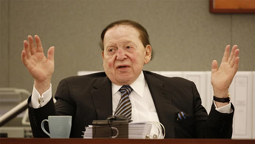 Group takes back prostitution claims against Sheldon Adelson