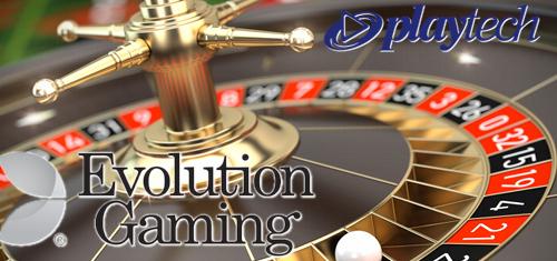 Evolution Gaming, Playtech introduce online live dealer roulette variants