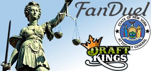 DraftKings, FanDuel file lawsuits v. New York AG; FanDuel cut off New York players