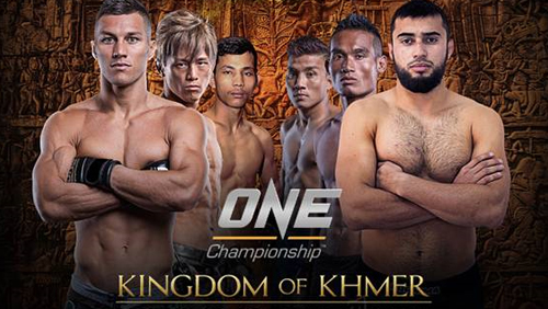 ONE Championship Returns to Phnom Penh for One: Kingdom of Khmer
