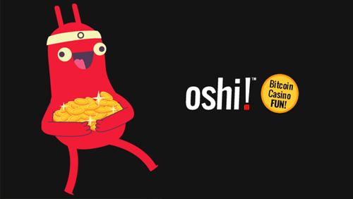 oshi! Bitcoin Casino open for business