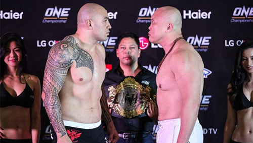 "Brandon ""the Truth"" Vera and Paul ""typhoon"" Cheng Made Weight Ahead of One Heavyweight World Championship Bout"