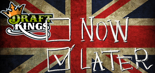 DraftKings delays UK launch until 2016; California DFS hearing no game changer
