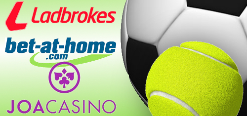 Ladbrokes ink first German football deal; Bet-at-home give up on tennis