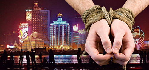 Macau casino-related crime rises one-third, illegal detentions more than double