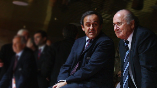 Sepp Blatter, Michel Platini face 8-year football ban