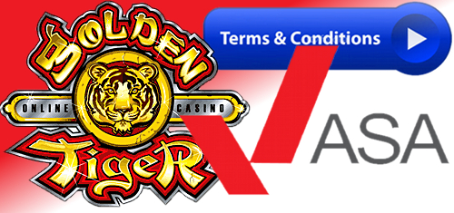 UK ad watchdog spanks Golden Tiger Casino over misleading bonus promotion
