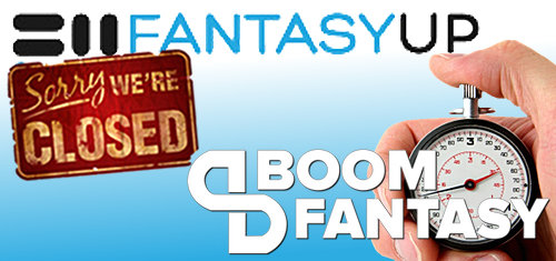 FantasyUp goes belly-up; Boom Fantasy speeds up daily fantasy sports