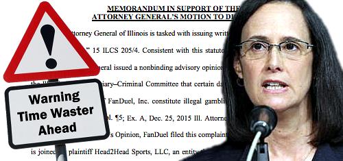Illinois AG seeks dismissal of daily fantasy sports operator complaints