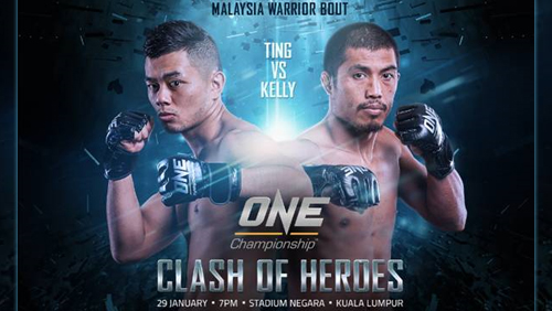 One: Clash Of Heroes Presented By Tune Talk Headed For Kuala Lumpur On 29 January