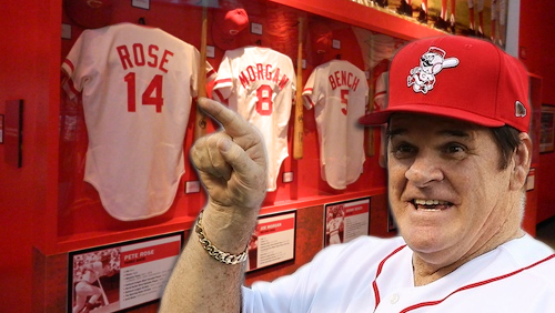 Pete Rose heads to Reds Hall of Fame