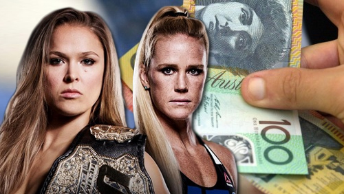 Report: Betting ban issued on Rousey-Holm's fight over 'integrity issues'