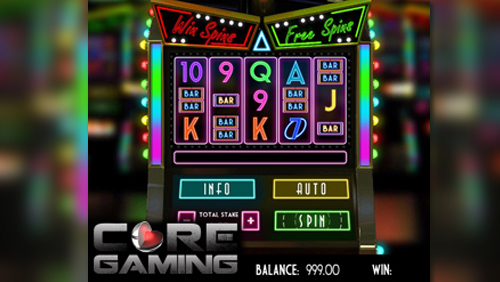 CORE Gaming brings the buzz of a Nevada slot to your screen with Vegas Lights