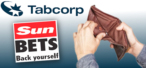 Tabcorp profit falls one-third on AML fines, Sun Bets startup costs