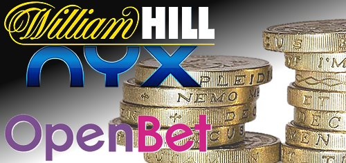 William Hill financially backing NYX Gaming Group's bid to acquire OpenBet