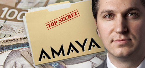Amaya keeping 2016 earnings guidance a secret due to CEO Baazov's takeover bid