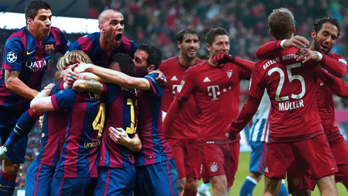 Champions League Round-Up: Barcelona and Bayern Advance
