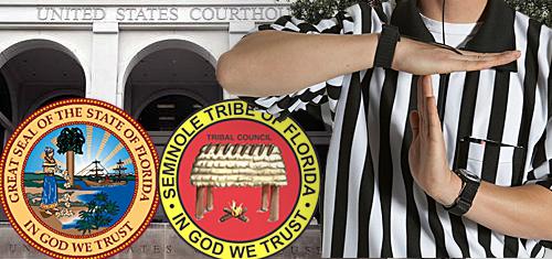 Florida, Seminoles seek blackjack trial delay; Hard Rock Tampa's VIP slots room