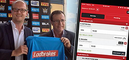 Ladbrokes Australia sponsor Gold Coast Titans, roll out Odds Boost enhancer