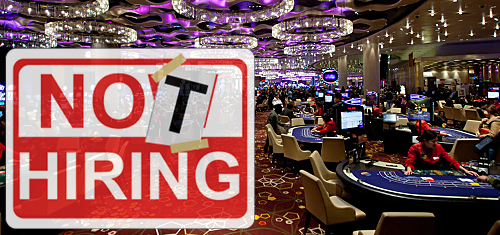 Macau facing double-digit doom in March; casino croupiers an endangered species