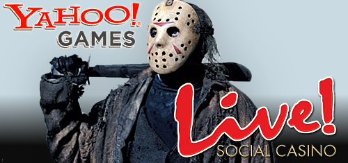 Maryland Live! launch new social casino; Yahoo Games to close Friday the 13th