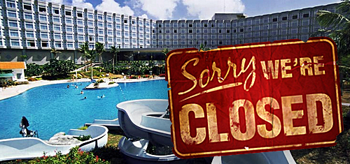 Tinian Dynasty Hotel & Casino 'temporarily' closing hotel due to lack of tourists