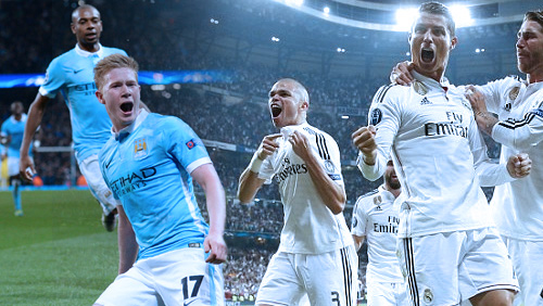 Champions League Review: Man City and Madrid Reach Semi-Finals